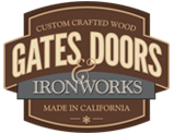 garage doors, gates, ironworks, california door manufacturers
