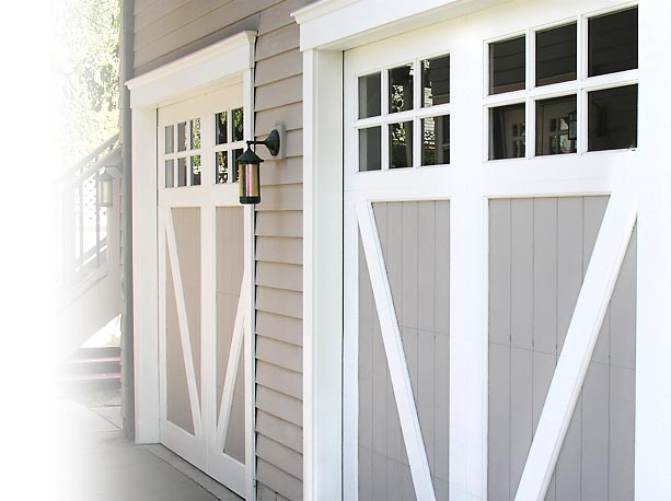 Custom Painted Wood Garage Door Manufacturer Southern