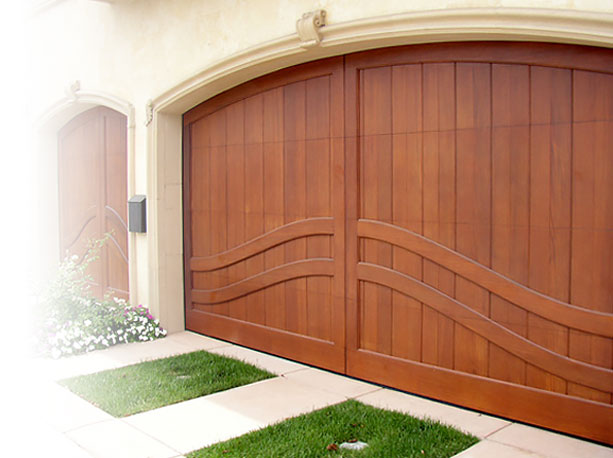Custom Wood Garage Door Manufacturer Southern California